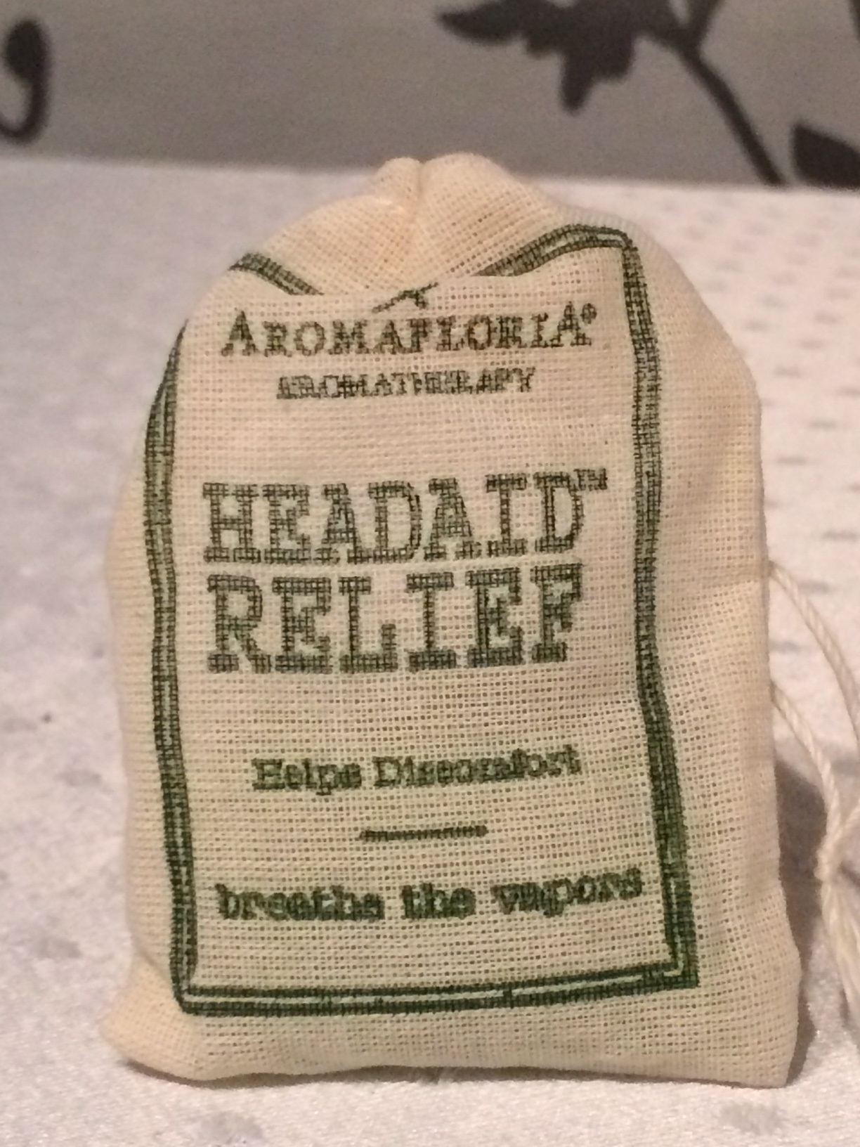 AromaRemedy Headaid Relief Bag